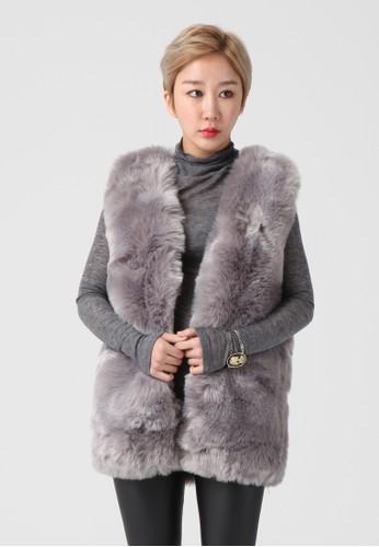 韓流時尚 人造毛皮背心 F4072, 服飾zalora 男鞋 評價, 上衣