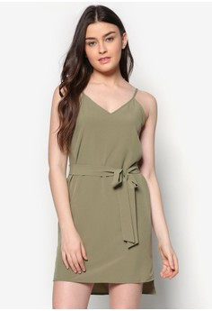Love Cami Dress With Side Slit