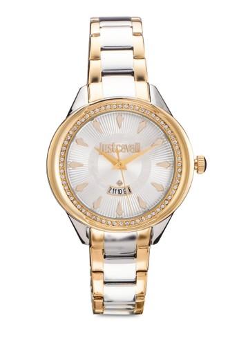 R72esprit台灣53571502 Jc01 閃鑽不銹鋼手錶, 錶類, 飾品配件