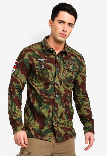 4589154265 Buy Superdry Premium Rookie Shirt Online on ZALORA Singapore