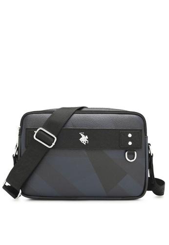 Swiss Polo black Monogram Sling Bag A758AAC7DF6B56GS_1