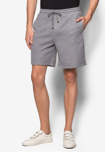 菱格紋esprit bag短褲, 服飾, 短褲
