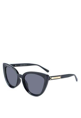 97037484a5329 Shop River Island Smoke Lens Cat Eye Sunglasses Online on ZALORA Philippines