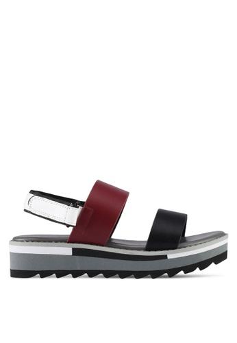 VINCCI red Strappy Sandals 68B94SHC8F7BF0GS_1