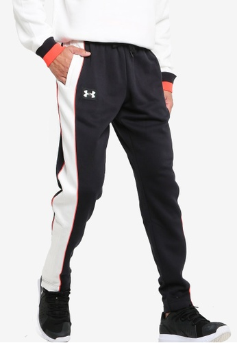 Under Armour 黑色 Rival Flc Amp Snap Pant BCCCAAA47307D0GS_1