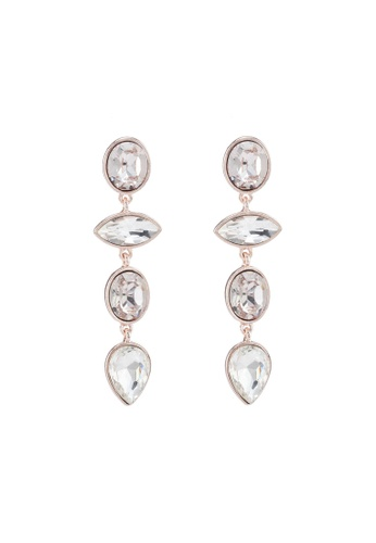 85650efee Forever New gold Daphne Graduating Stone Drop Earrings EAA90AC712A4E6GS_1