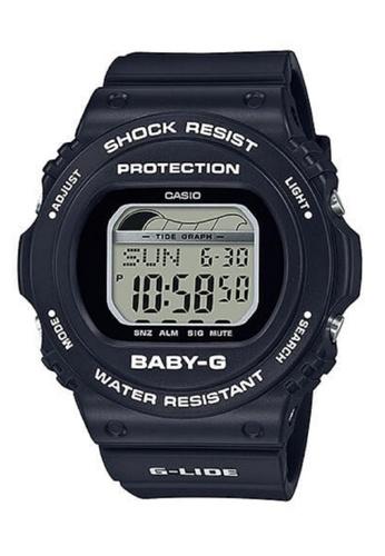 Casio black Baby-G Glide Series Digital Watch BLX-570-1DR 32200ACF6BD8EAGS_1