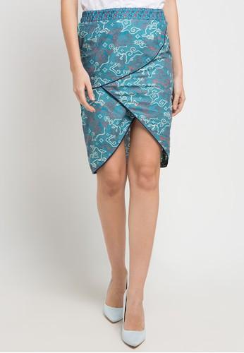 bhatara batik blue and multi Fiona 48BE4AA7D307C4GS_1