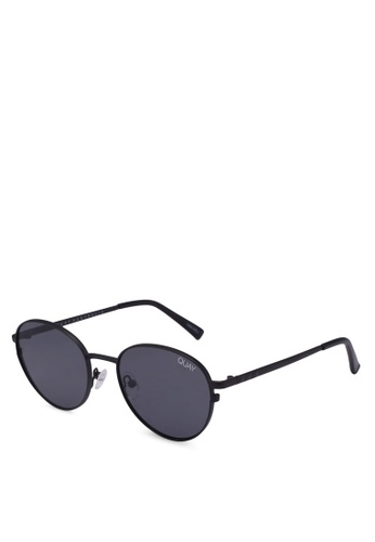 Quay Australia black Crazy Love Sunglasses B15C6GL31E050DGS_1