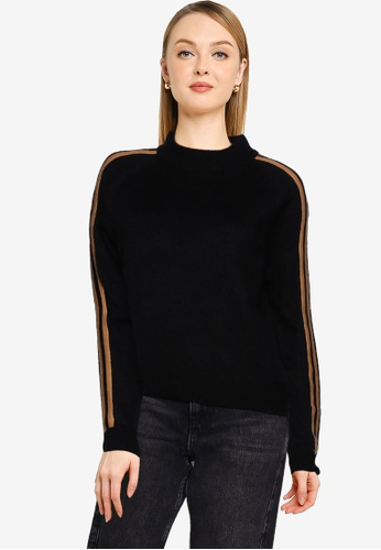 Brave Soul black Knitted Turtle Neck Jumper E8D5CAAE1967CDGS_1