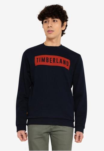 Timberland blue Oyster River Sweatshirt 9C52DAA45F7351GS_1