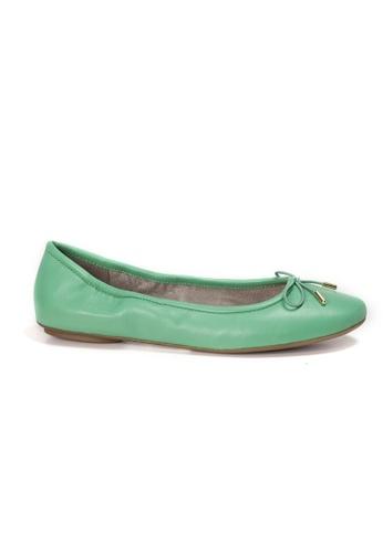 Shu Talk green AMAZTEP New Comfortable Leather Ballerina Ballet Flats F58B7SH72D0371GS_1
