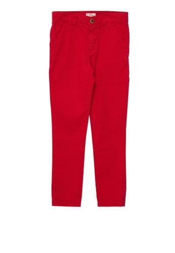 Du Pareil Au Même (DPAM) red Red Pants 87B69KA762255BGS_1