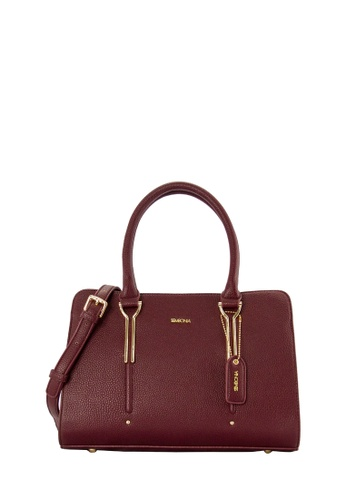 SEMBONIA red SEMBONIA Synthetic Leather Shoulder Bag (Maroon) 888FFAC0837A28GS_1