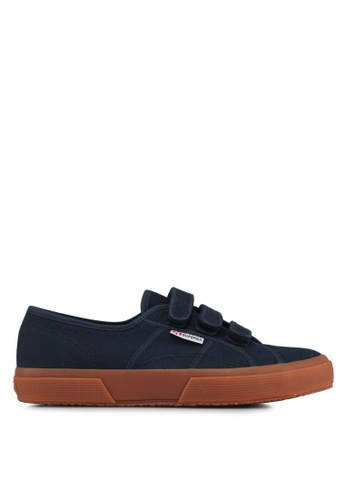 Superga navy Cot3Strapu Sneakers E4A1CSHFF5AC16GS_1