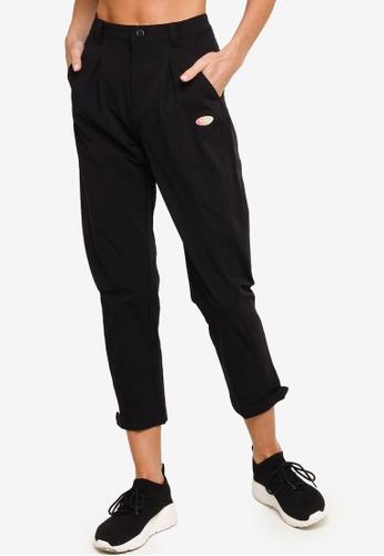 361° black Sports Life Sports Cropped Pants F2F2AAA7B84E55GS_1