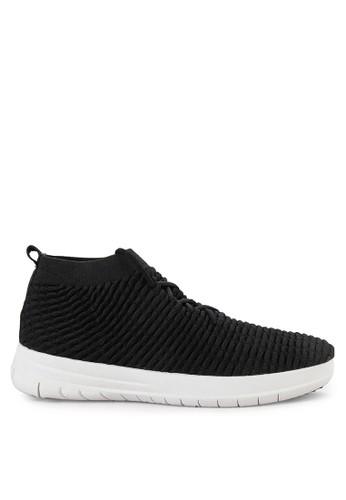 185223711128 Fitflop black Uberknit Slip On High Top Sneakers 46BB4SHE0E8C44GS 1