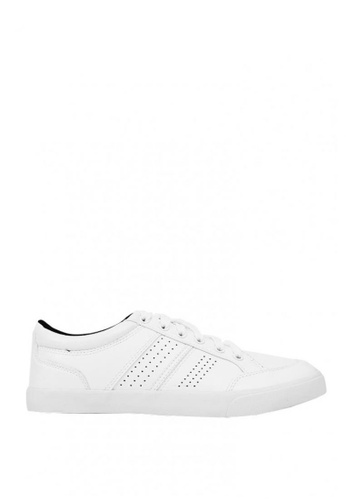 World Balance white Osmond MS Sneakers 6FAA3SHBE130ECGS_1