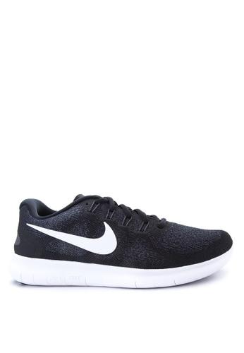 Nike black Women's Nike Free RN 2017 Running Shoes NI126SH55ZAYMY_1