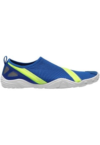 paperplanes blue Paperplanes-1363 Mesh Super Light Aqua Slip-Ons Shoes US Women Size PA355SH61QSWSG_1