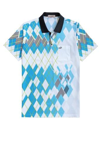 Crocodile white and blue Crocodile DIAMOND 1689 Blue - Baju Kaos Kerah Pria Men Polo Original Relax fit - Bahan Katun 0F654AAD311CD2GS_1