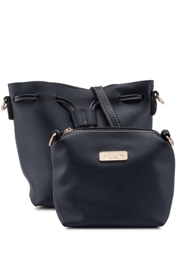 ba49e3d08d4 Faux Leather Bucket Bag