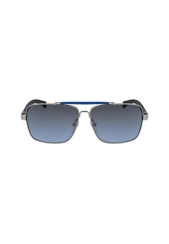 Calvin Klein Eyewear silver Aviator CKJ465SAF Sunglasses 82040GL1AE4073GS_1