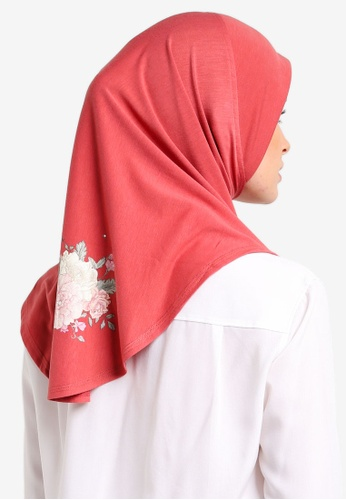 Cloverush red Vera Instant Scarf CL245AA0RNSBMY_1