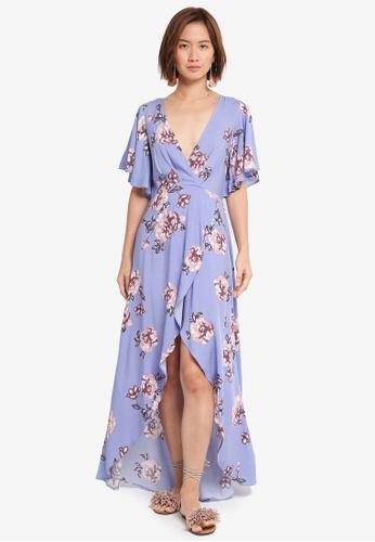 0e372590555a Buy INDIKAH Floral Maxi Dress Online on ZALORA Singapore