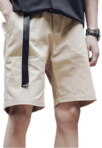 Sunnydaysweety beige Casual Wide Leg Shorts A21032314KI 9A6FDAA1D76381GS_1