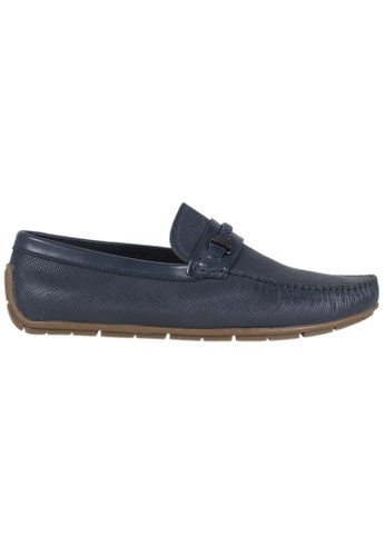 Tomaz blue Tomaz C293 Braided Buckled Loafers (Navy) BE30DSHD1F3215GS_1