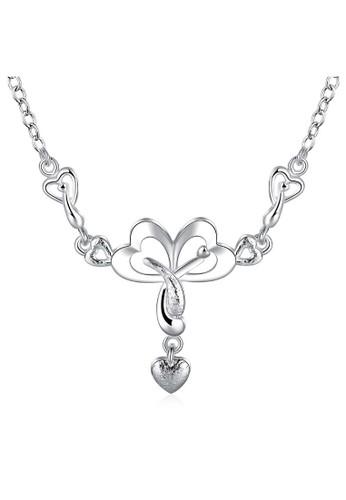 Tiaria white Tiaria Gold Plated Necklace Pendant Party SPCN764--K09 4CC43ACE1FA997GS_1