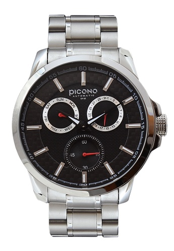 PICONO Watches black Eunice Carbon Fiber Weave Dial Fashion Watch PI771AC2VURVHK_1