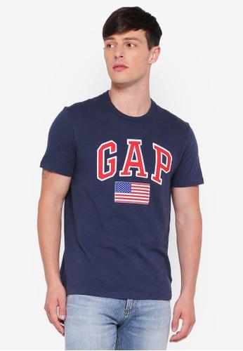 GAP navy Sp17 Us Flag Tee A29BAAA7E6895EGS_1