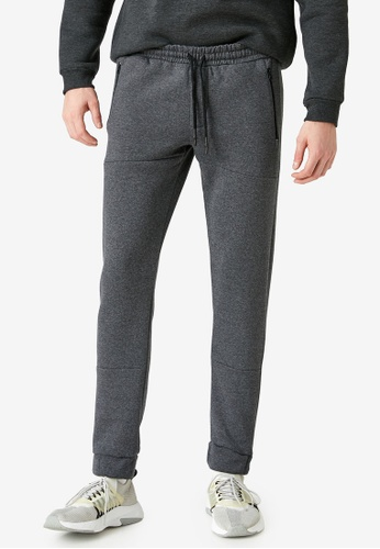 KOTON grey Casual Sweatpants 30EBFAAFB982B1GS_1