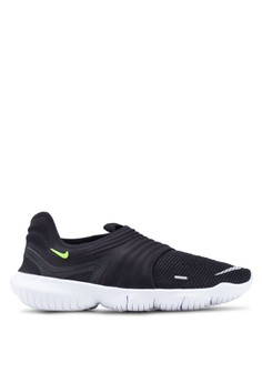 66df5da214a Nike black Nike Free Rn Flyknit 3.0 Shoes 4FA05SH653DF78GS_1