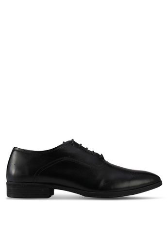 ACUTO black Lace Up Dress Shoes AC283SH0SL70MY_1