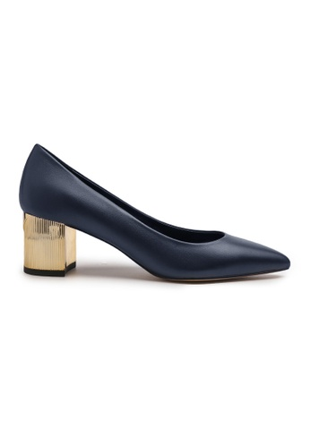 Byford blue Cameo Pointed Toe Heels 9FD2CSH14C30CFGS_1