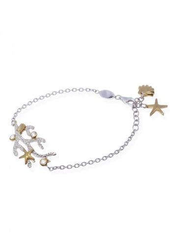 Sunaka Jewelry silver Perhiasan Wanita Perak Asli - Gelang Koleksi Coral Reef 742D7AC16BC58FGS_1