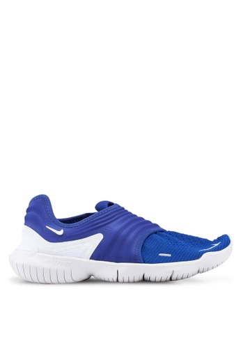 Nike blue Nike Free Rn Flyknit 3.0 Shoes 86F2DSHE27DB02GS_1