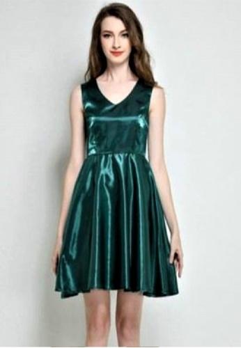 Sunnydaysweety green Green Vest Aline One Piece Dress K20052106 864F1AA81A653DGS_1