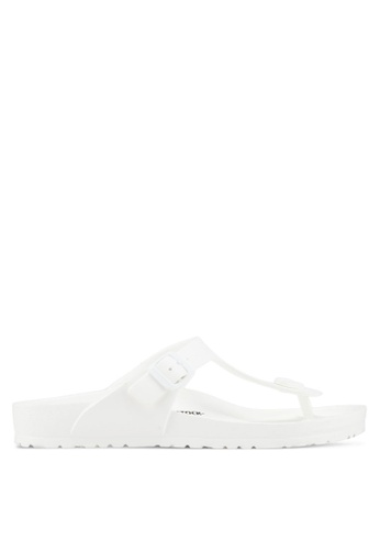 Birkenstock white Gizeh EVA Sandals 1750BSHF24D254GS_1