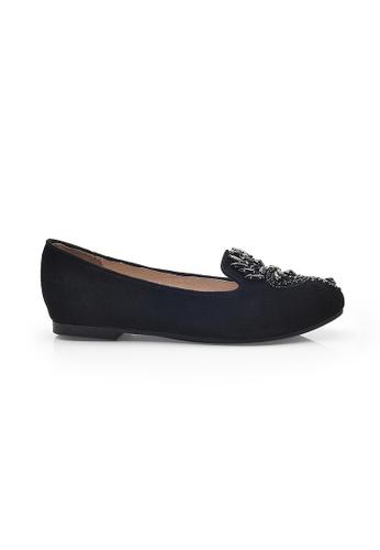 Elisa Litz black Troo Flats (Black) EL365SH46ZGJSG_1