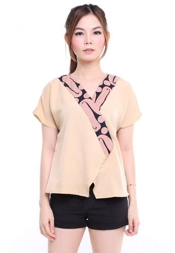 DhieVine Batik brown Kemangi Parang Manis Top 67D1BAAA363653GS_1