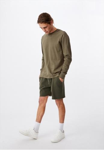 Cotton On green Tbar Long Sleeve T-Shirt 6C983AA40402D4GS_1
