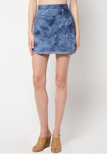 sophistix blue Alunia Reversible Skirt SO829AA21XUOID_1