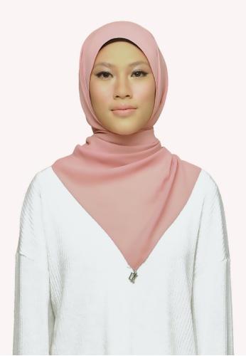 De Leuca pink De Leuca Jolie Shawl - Pinky Peach 5768FAC1573601GS_1