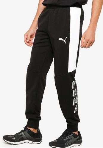 PUMA black Modern Sports Men's Sweatpants 16B7DAA29D0204GS_1