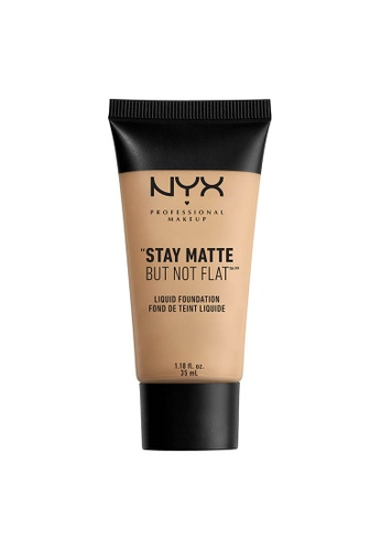 NYX Professional Makeup beige NYX Professional Makeup Stay Matte But Not Flat Liquid Foundation - NUDE D8717BED64A725GS_1