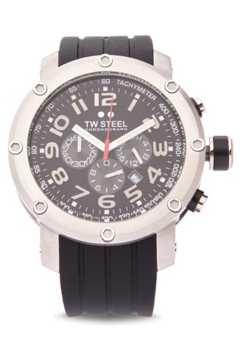TW Steel black TW121 Grandeur Tech Analog Watch TW310AC0KMC1PH_1